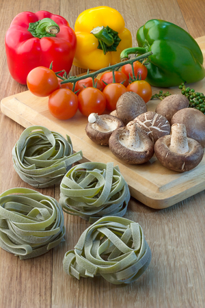 ingredient: fresh ingredient for pasta recipe