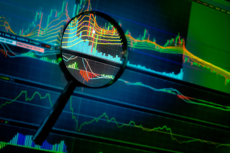 opportunity investment in stock market with market chart