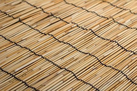 bamboo stick: bamboo stick straw mat texture background