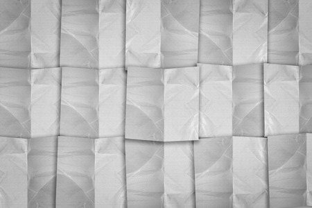 crinkles: white paper pad texture background with copy space for your text