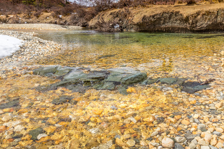 ridge of wave: Clear water in the roar landscape concept