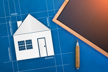 Abstract architecture background house plan blueprint symbol abstract architecture background house plan blueprint symbol stock photo 60626935 malvernweather Images