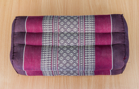 tradition: Tradition native Thai style pillow Stock Photo