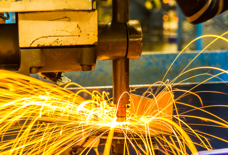 steel construction: Industrial welding automotive in thailand