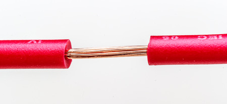 electrics: Electric cable Stock Photo