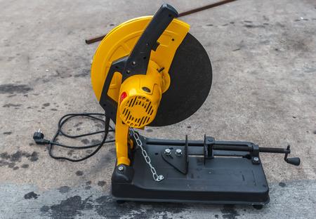 cutoff blade: electric fiber cutting machine