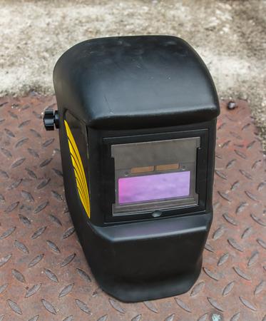 welding mask: black welding mask