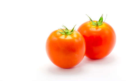 tomatoes isolate on white background.