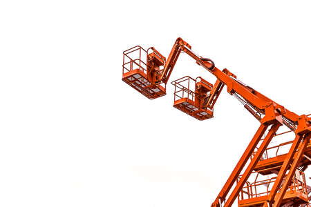 forklifts or crane for industrial construction