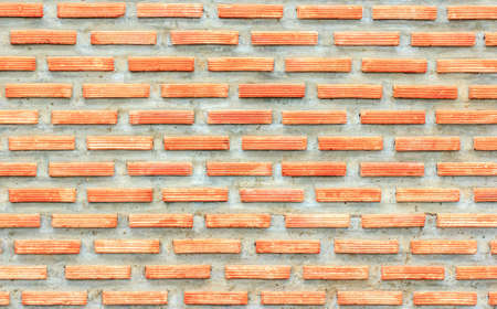 Old red brown brick wall texture. background 스톡 콘텐츠