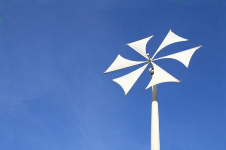 Modern wind turbines or wind mills  Stock Photo - 7420048