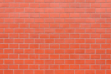 new red brick wall background.  Stock Photo - 8012851