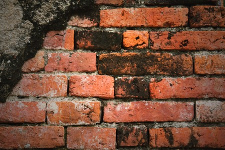 Old brick wall background Stock Photo - 8012898