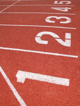 lane: Athletics Track Lane numbers