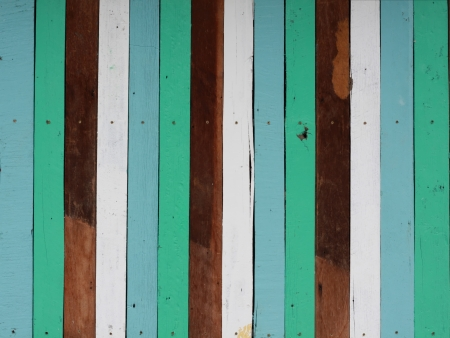 vintage color wood wall background Stock Photo - 14355962