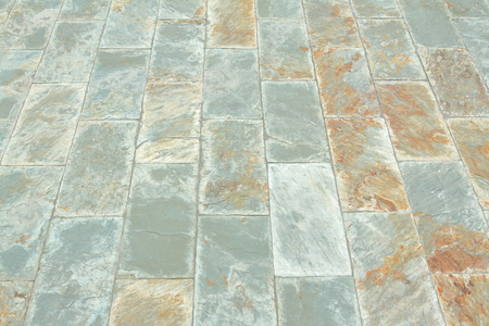 foliate: Natural gray and brown mineral slate paving or walk way texture background