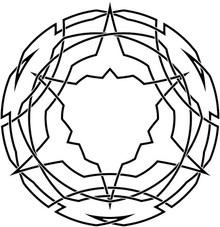 Celtic knot #3 Illustration