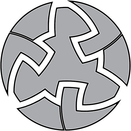 Celtic knot #7 Illustration
