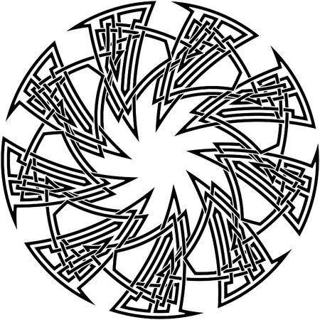knot work: Celtic knot #11