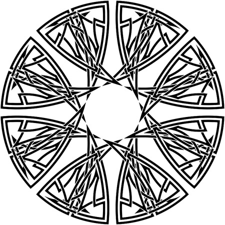 Celtic knot #12 Vector