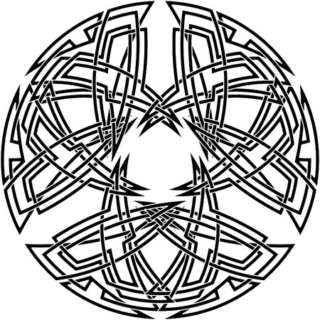 Celtic knot #13 Vector