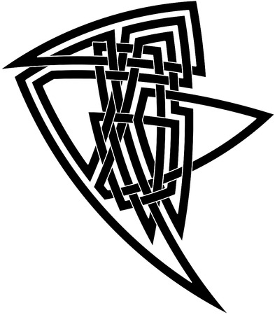 Celtic knot #15 Vector