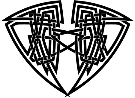 Celtic knot #16 Vector