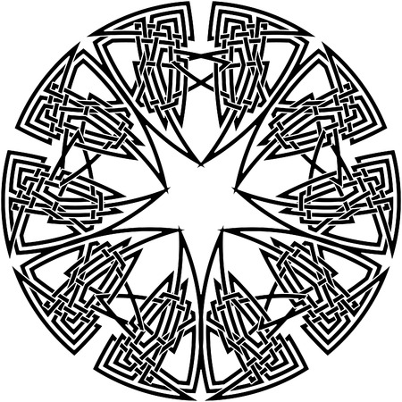knot work: Celtic knot #18 Illustration