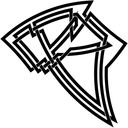 Celtic knot #22 Vector