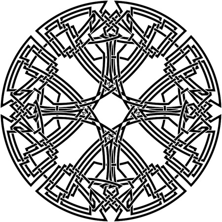 Celtic knot #25 Vector