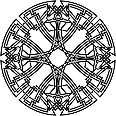knot work: Celtic knot #25