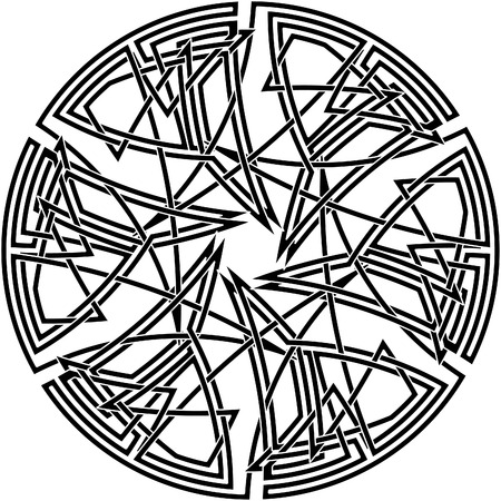 Celtic knot #44 Vector