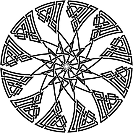 celtic culture: Celtic knot #48