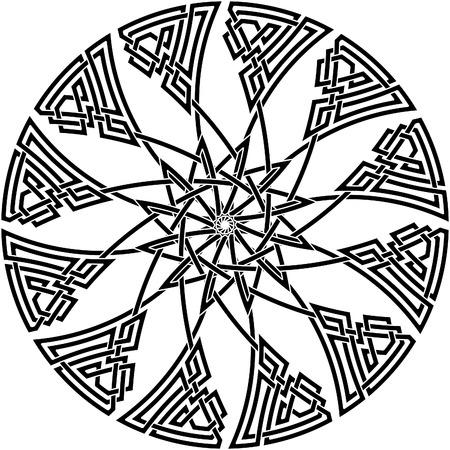 keltische muster: Keltische Knoten # 48 Illustration