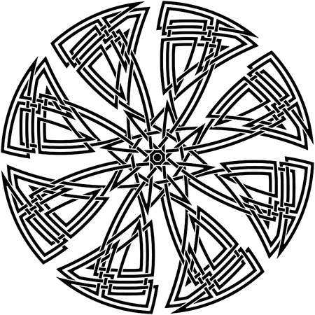 Celtic knot #54 Vector