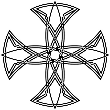 Celtic knot #56 Vector