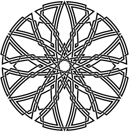 Celtic knot #57 Vector