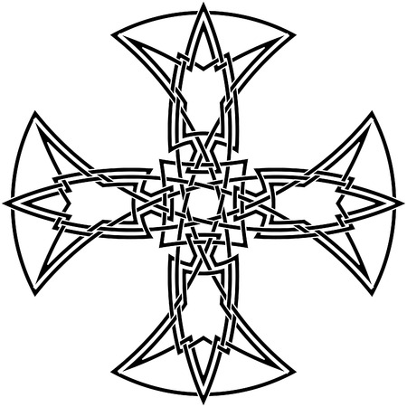Celtic knot #58 Vector