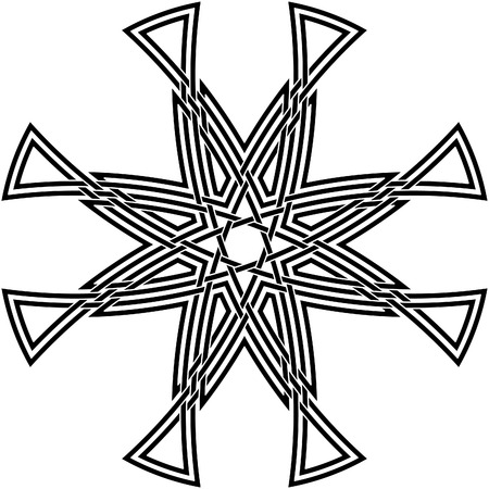 Celtic knot #63 Vector