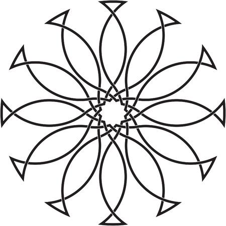 keltische muster: Keltische Knoten # 67