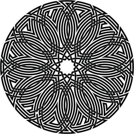 Celtic knot #68 Illustration