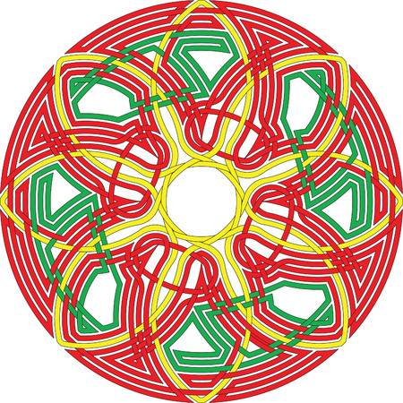 Celtic knot #74 Vector