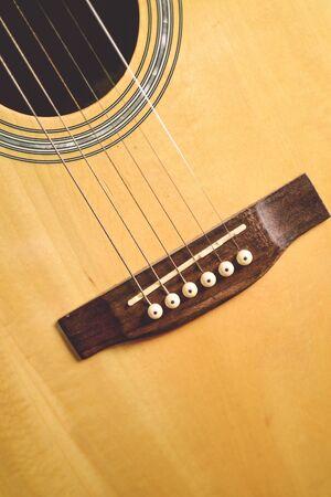 guitar,yellow Stock Photo