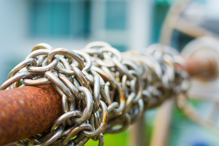 symbolic: The chain symbolic of links, and security.