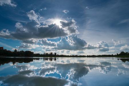 natural backgrounds: corona sky