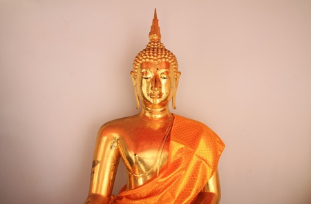 Wat Pho Buddist Monk Statue photo