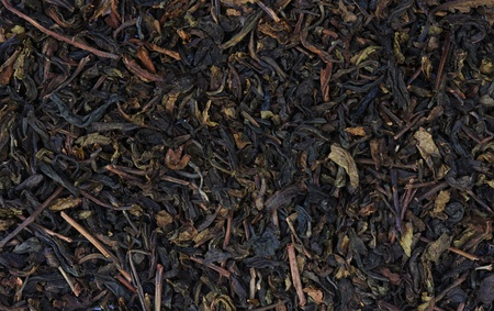 medicinal leaf: Black tea texture