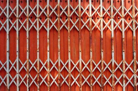 Puertas plegables Puerta de Hierro Foto de archivo - 11387772