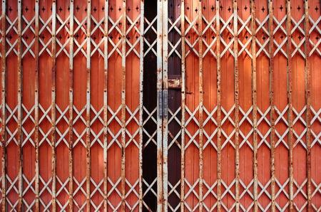Folding doors,Iron Door Stock Photo - 11387773