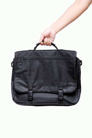 hand holding bag Stock Photo - 11387899
